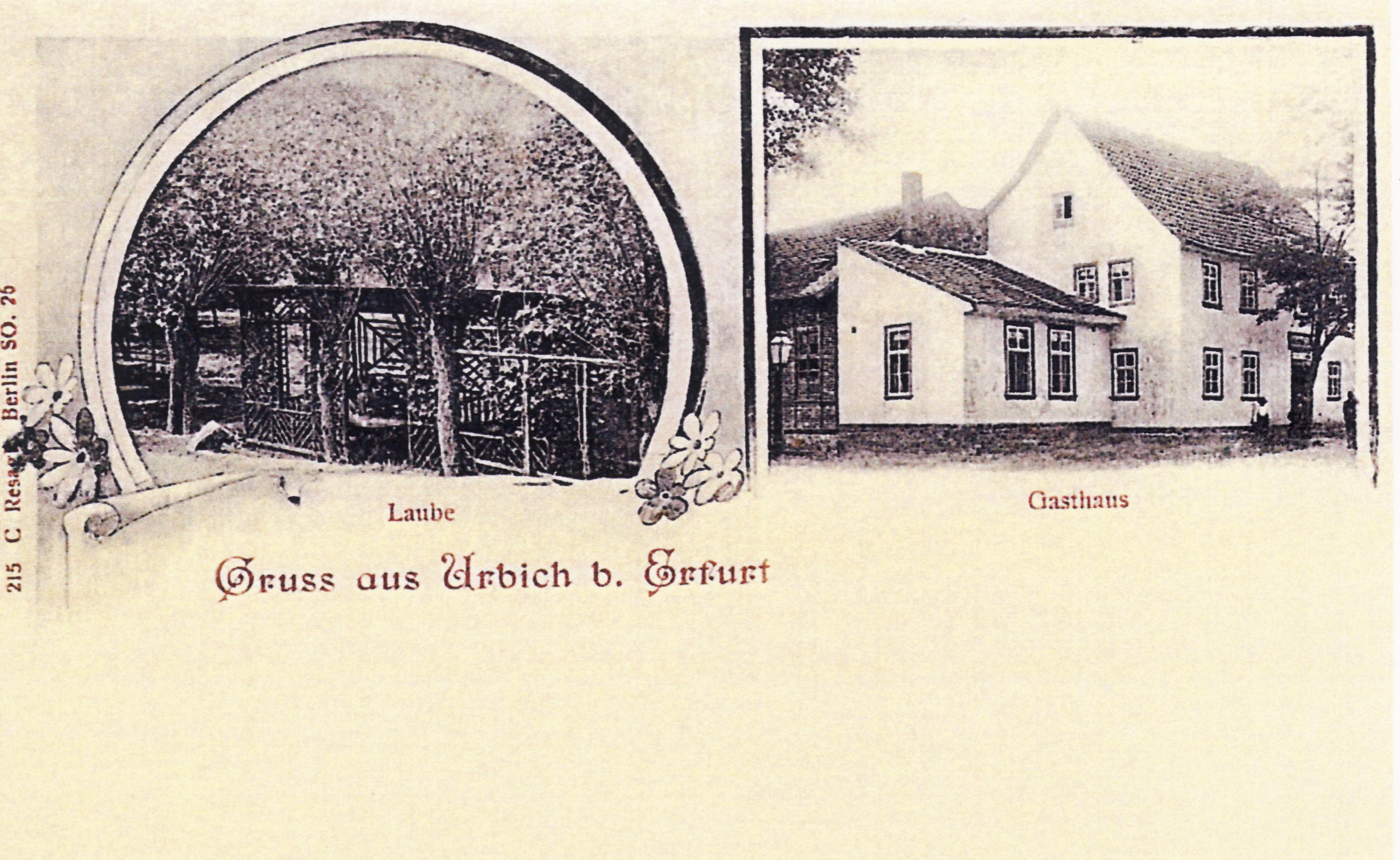 Erfurt Urbich Historische Fotos